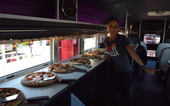Cool Bus Package Pizza Lovers