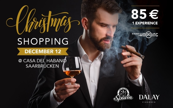 Christmas Cigar Shopping @ Saarbrücken
